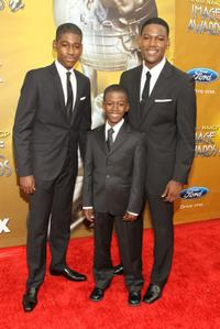 Kwame Boateng, Kwesi Boakye and Kofi Siriboe at the 41st NAACP Image Awards.