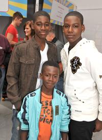 Kwame Boateng, Kwesi Boakye and Kofi Siriboe at the