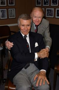 Ricardo Montalban and Red Buttons at the Tony Martin's 90th birthday party.