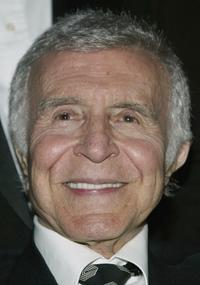 Ricardo Montalban at the unveiling and gala inauguration of the Ricardo Montalban Theatre.