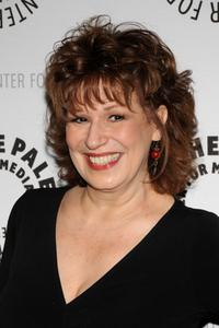 Joy Behar at the evening with the hosts of