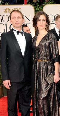 Goran Kostic and Zana Marjanovic at the 69th Annual Golden Globe Awards in California.