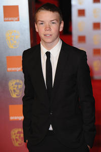 Will Poulter at the Orange British Academy Film Awards in England.