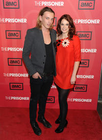 Jamie Campbell-Bower and Ruth Wilson at the New York premiere of