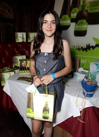 Isabelle Fuhrman at the Melanie Segal's Celebrity S.O.S (Save Our Seas) Lounge.