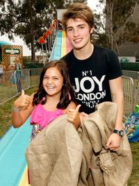Bailee Madison and Gregg Sulkin at the 21st A Time For Heroes Celebrity Picnic sponsored by Disney.