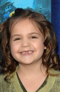 Bailee Madison at the premiere of