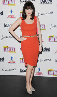 Alice Lowe at the Loaded LAFTA's in London.