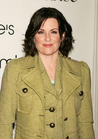 Megan Mullally at the launch party for Will & Grace: Let The Music Out.