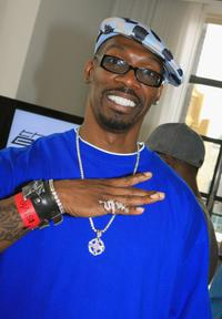 Charlie Murphy at the VMA Style Villa in Bryant Park Hotel.