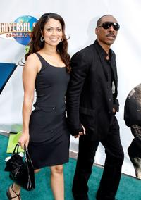 Eddie Murphy and Tracey Edmonds at the premiere of Universal Picture's