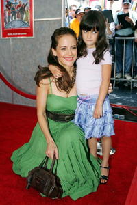 Kelly Preston and Ella Travolta at the premiere of