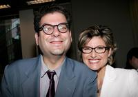 Michael Musto and Ashleigh Banfield at the screening of
