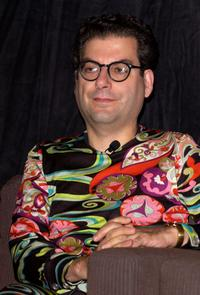 Michael Musto at the Drag Panel Discussion with Boy George and John Cameron Mitchell.