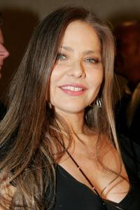 Ornella Muti at the party for Italian watch and jewelry maker Breil at the Felix Club.