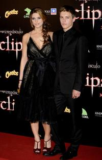 Ashley Greene and Xavier Samuel at the premiere of