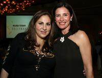 Kathy Najimy and Mimi Rogers at the celebration honoring Geena Davis as this year's Hollywood Hero.