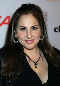 Kathy Najimy at the opening of