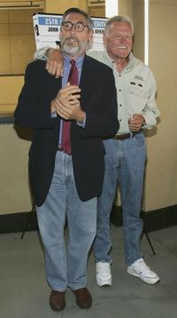 Director John Landis and Charles Napier at the 25th Anniversary DVD Release of the Blues Brothers.