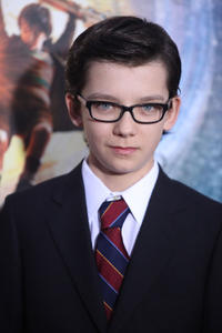 Asa Butterfield at the New York premiere of