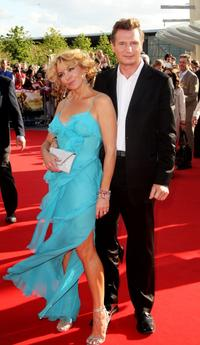 Natasha Richardson and Liam Neeson at the UK premiere of