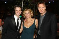 Ben Barnes, Natasha Richardson and Liam Neeson at the after party of the premiere of