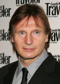 Liam Neeson at the Conde Nast Traveler 19th Annual Reader's Choice Awards.