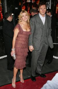Natasha Richardson and Liam Neeson at the premiere of