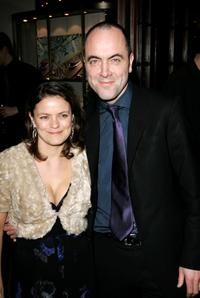 James Nesbitt and his wife Sonia at the after party of the UK Premiere of