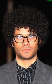 Richard Ayoade at the UK premiere of