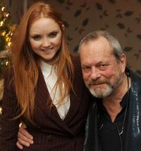 Lily Cole and Terry Gilliam at the after party of the premiere of