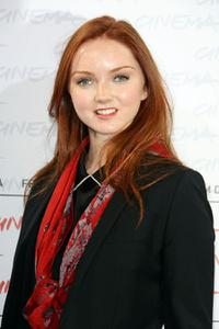 Lily Cole at the photocall of