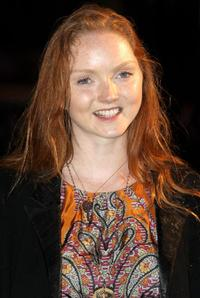 Lily Cole at the Royal world premiere of