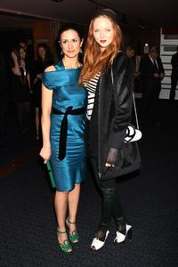 Livia Giuggioli and Lily Cole at the UK premiere of