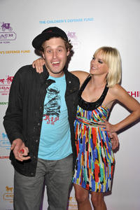 T.J. Miller and Anna Faris at the An Evening of Cocktails and Shopping To Benefit The Children's Defense Fund in California.
