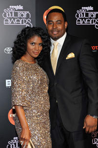 Denise Boutte and Lamman Rucker at the 2010 Soul Train Awards.