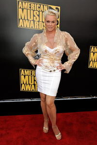 Brigitte Nielsen at the 2008 American Music Awards.