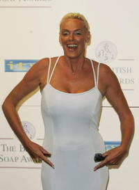 Brigitte Nielsen at the British Soap Awards 2005.