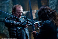 Bill Nighy as Viktor and Michael Sheen as Lucian in
