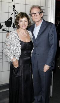 Bill Nighy and his wife Diana Quick at the after party following the UK premiere of