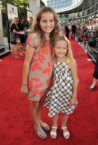 Maude Apatow and Iris Apatow at the premiere of