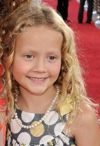 Iris Apatow at the premiere of