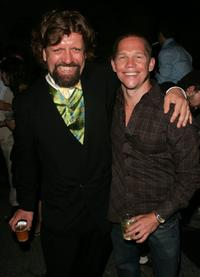 Oskar Eustis and Jack Noseworthy at the after party of the premiere of