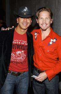 Sergio Trujillo and Jack Noseworthy at the Opening of