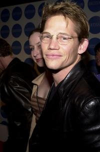 Jack Noseworthy at the Details-Artisan Entertainment party.