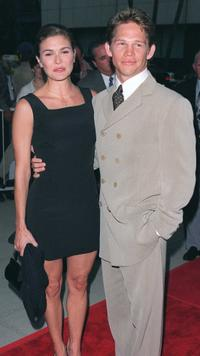 Jack Noseworthy and Guest at the premiere of