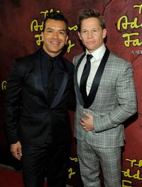 Sergio Trujillo and Jack Noseworthy at the Broadway opening of