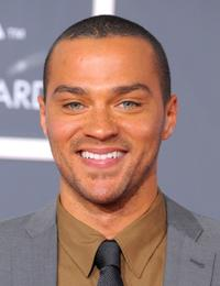 Jesse Williams at the 52nd Annual GRAMMY Awards.
