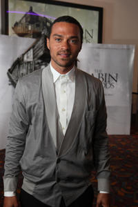 Jesse Williams at the LA premiere of