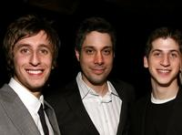 Chad Jamian Williams, Director Brian Hecker and Steven J. Kaplan at the after party of